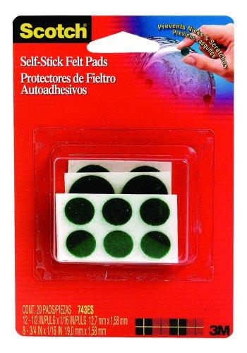 3M Scotch Self Stick Assorted 6 Pack
