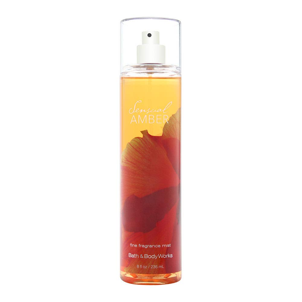Bath Body Works Sensual Amber 8.0 oz Fine Fragrance Mist