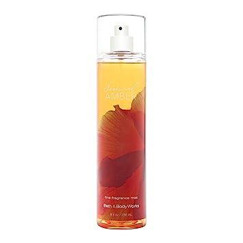 Amazoncom Bath Body Works Sensual Amber 80 Oz Fine Fragrance