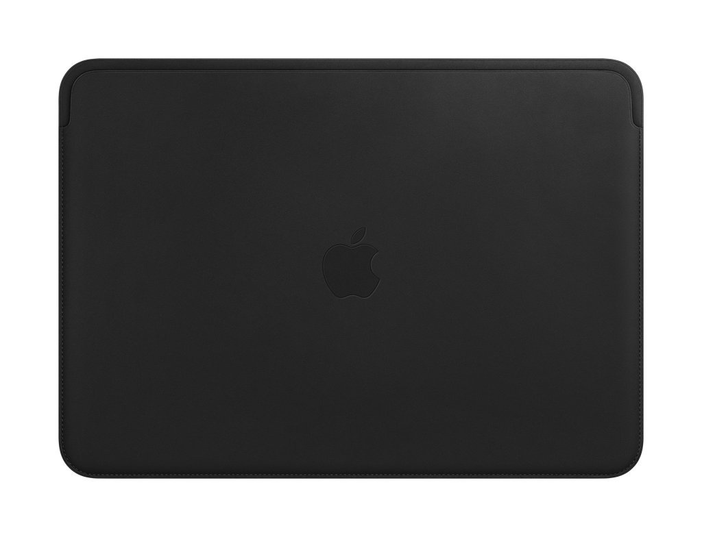 Leather Sleeve (for Apple MacBook Pro 13-Inch Laptop) - Black by Apple (Image #1)