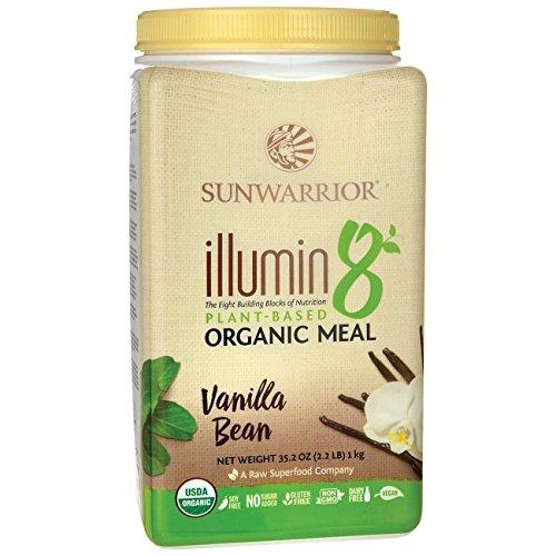 Sunwarrior Illumin8 Organic Plant Meal 1kg (Vanilla Bean)