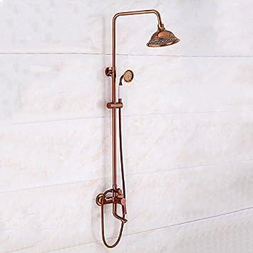 Grifo de la Ducha Ducha termostatica Set Europeo Rosa de Oro ...