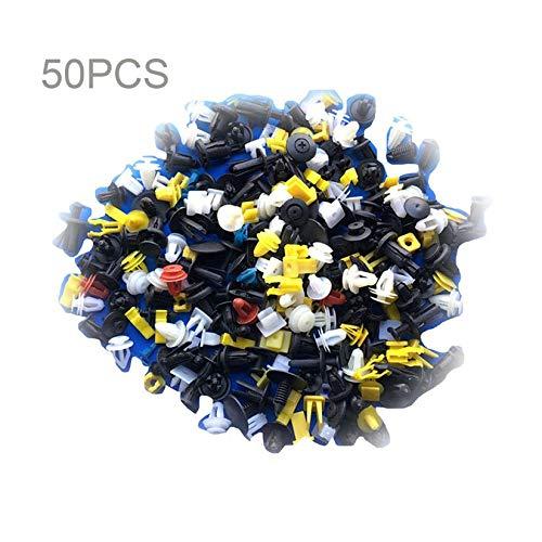 Universal-Auto-Kö rper-Ordnungs-Formungs-Klipp-Plastikdruck-Zurü ckhaltungs-Stift-Niet-Befestiger Platten-Halterungs-Klammer-Zusammenstellungs-Installationssatz - Mischungs-Farbe ZengBuks