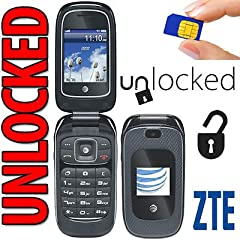 ZTE Z223 Prepaid Cell Phone for AT&T: Stay connected with family and friends with this prepaid cell phone. The LCD display allows easy navigation and text messaging, while 3G speed ensures reliable performance.