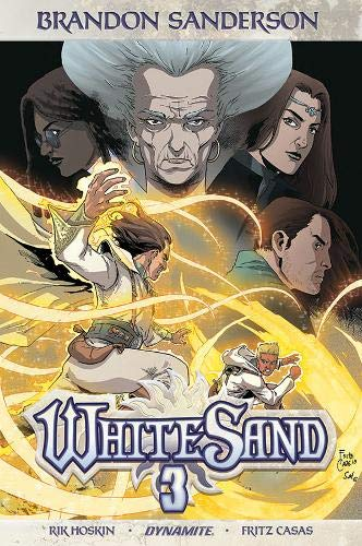 Pdf Graphic Novels Brandon Sanderson's White Sand Volume 3
