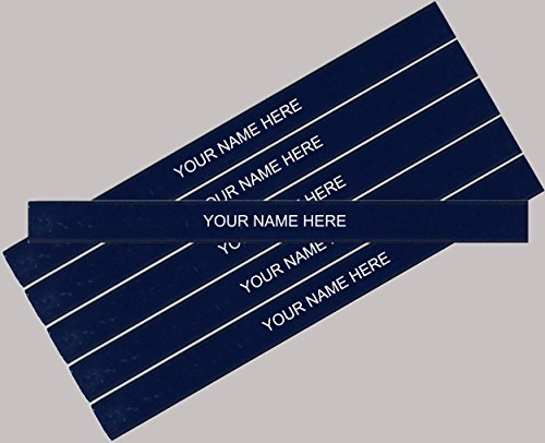 (ezpencils - Personalized Dark Blue Carpenter Pencil - 6 pkg - ** FREE PERZONALIZATION)