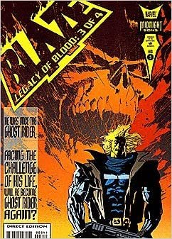 Blaze Legacy of Blood #3 of 4 February 1994 Midnight Sons