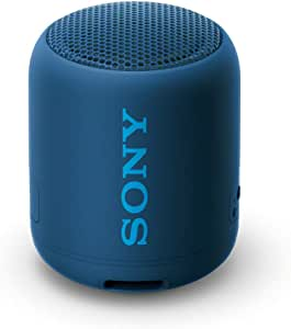 Sony SRS-XB12, Compact & Portable Waterproof Wireless Speaker with Extra BASS, Blue