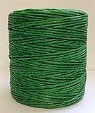 Maine Thread - .040'' Kelly Green Waxed Polycord. 210 feet each. Includes 2 spools.
