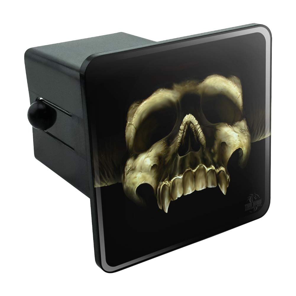 Graphics and More Pirate Skull Crossed Swords Jolly Roger Oval Tow Hitch Cover Trailer Plug Insert 2