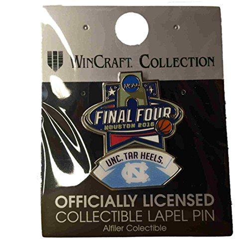 North Carolina Tar Heels Lapel Pins - North Carolina Tar Heels 2016 NCAA Houston Final Four Collectible Lapel Pin
