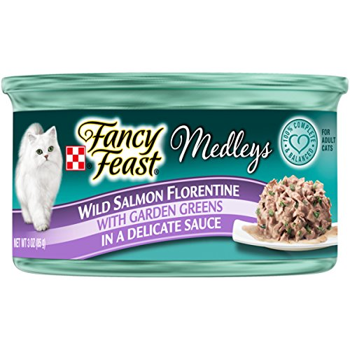 Purina Fancy Feast Medleys Florentine Collection Gourmet Wet Cat Food - (24) 3 oz. Cans -