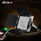 VILTROX VL-40B 40W Pro CRI 95+ 5600K Dimmable Led Video Light Panel ,540pcs LED Studio Video Continuous Light Lamp Lighting for video / photography / interview, 4200LM ,+wireless remote controller