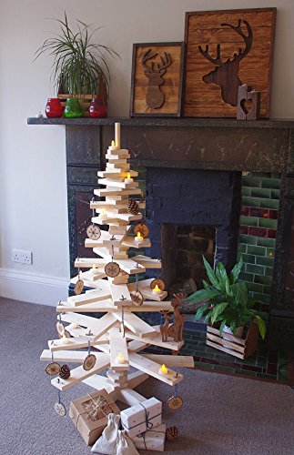 Wooden Christmas Tree Alternative Christmas Tree Christmas