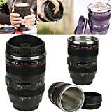 bella mixer blender - New Hot 24-105mm Stainless Lens Thermos Camera Travel Coffee Tea Mug Cup Gift