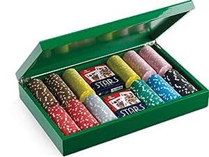 Juego JU00068 - Set de Poker Camelot con 300 fichas, Incluye ...