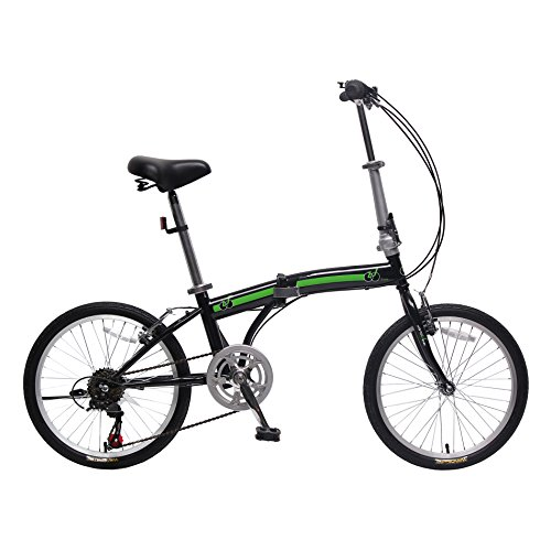 unYOUsual U arc 20-Inch Folding Bike Foldable Bicycle 6 Speed Shimano city bike for adult Image