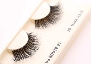 54bdd2f1ce3 Amazon.com : Cherishlook 3D MINK Hair Eyelashes (US Route 21) - 3packs :  Beauty