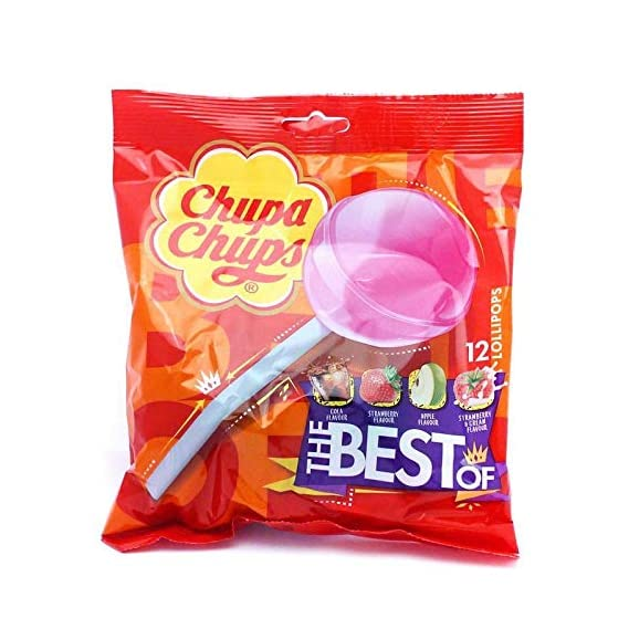 Chupa Chups Lollipops 12's