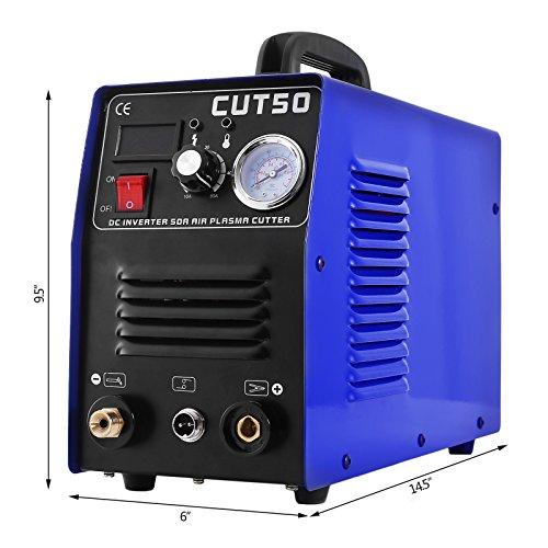 Buoqua CUT50 - Soldadora de plasma, corte máximo 10 mm, 50 A, 220 V ...