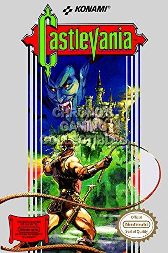 CGC Huge Poster - Castlevania Original Nes Nintendo Box Art