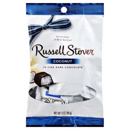 Russell Stover Dark Chocolate Coconut, 3 oz. Bag