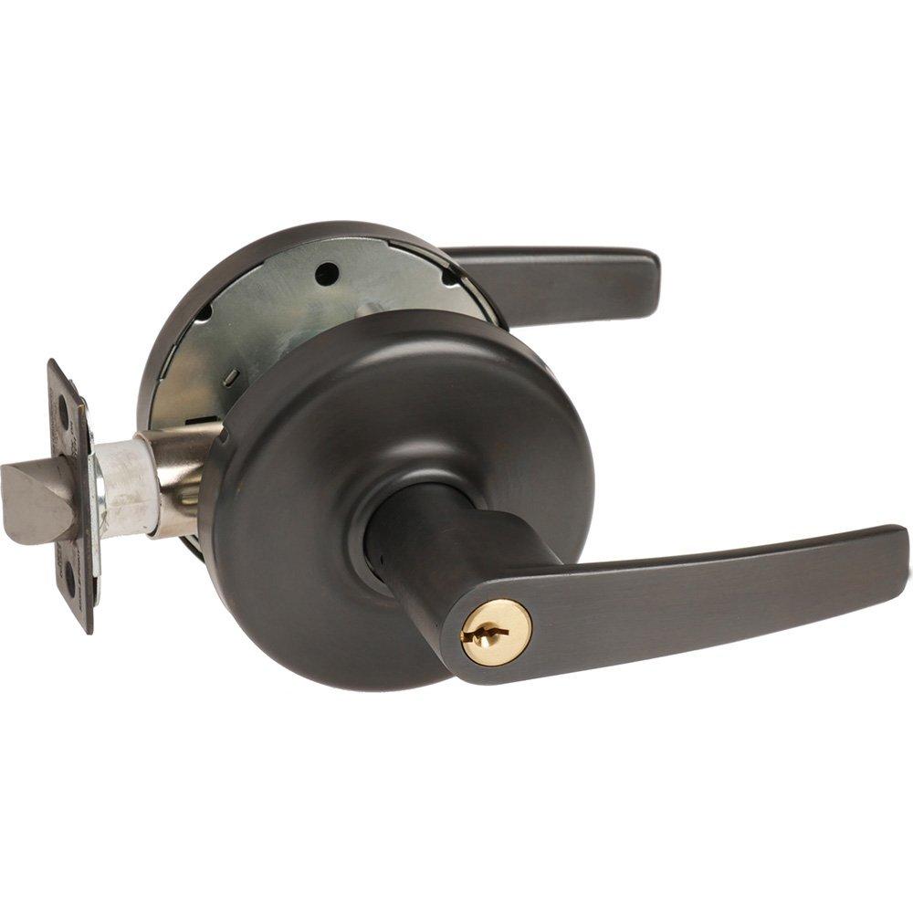 2-3//4 Backset 613 Corbin Russwin CL3557-AZD-613-KR Grade 1 Storeroom Steel//Zinc//Bronze 2-3//4 Backset Oil Rubbed Dark Non Handed
