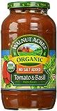 Walnut Acres, Tomato & Basil Pasta Sauce, Fat Free, Low Sodium, 25.5 oz