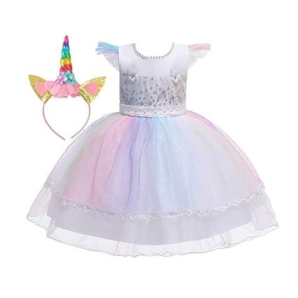 Jeff-chy Vestido De Niñas De Halloween Vestido De Princesa ...