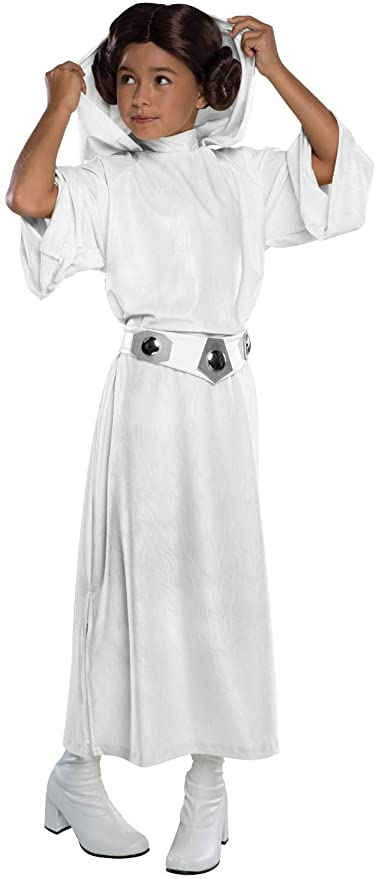 Amazon Com Rubie S Costume Star Wars Classic Princess Leia Deluxe