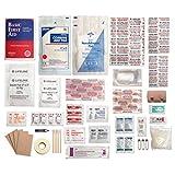 Lifeline Trail Light 3 Survival First Aid Kit (72-Piece), Multi Color
