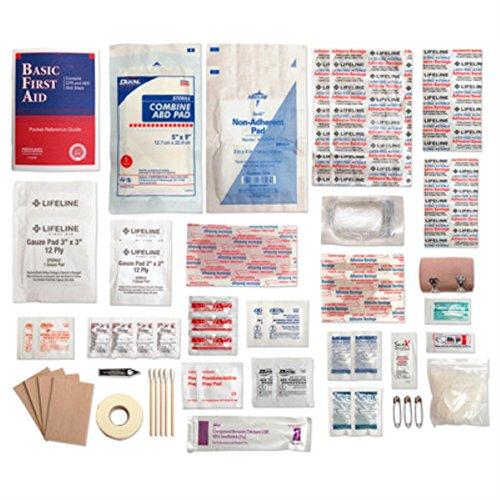 Lifeline Trail Light 3 Survival First Aid Kit (72-Piece), Multi Color by Lifeline