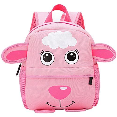 SaiDeng Kinder Rucksack Cartoon Kinderrucksäcke Junge Mädchen Schulranzen Rucksäcke Schwein Schaf