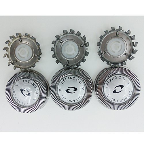 Price comparison product image 3 x Replacement Shaver Head for Philips HQ56 HQ55 HQ4+ HQ3 HQ802+HQ912+PQ202