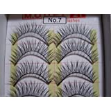MODEL 21 False fake No. 7,8 or 9, 16, 16A, 19, 19A, 28 OR 28A Eyelashes 10 Pairs by model 21