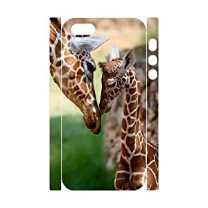 phone covers 3D Bumper Plastic Customized Case Of Giraffe for iPhone 5c