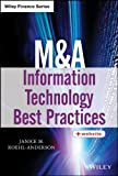 M&a Information Technology Best Practices, Janice M. Roehl-Anderson, 1118617576