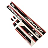 New Decal Set 1715-2076 For Case International Harvester X-HKIH986RC