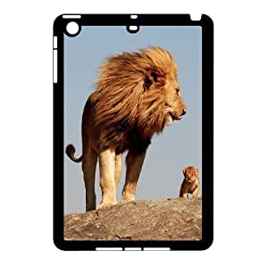 High quality animal Lion-The king of the forest series protective case cover For Ipad Mini Case H0U94-A5144