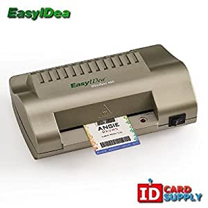 "easyIDea ML450T ID Card Laminator, 4.5"" Teslin Pouch Laminating Machine"