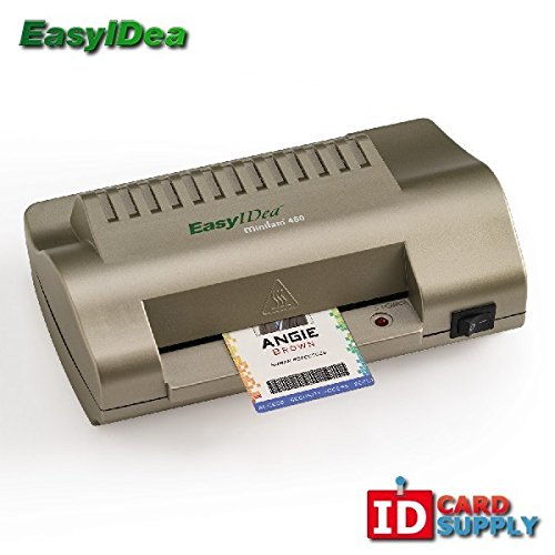 Business Card Laminating Machine (easyIDea ML450T ID Card Laminator, 4.5