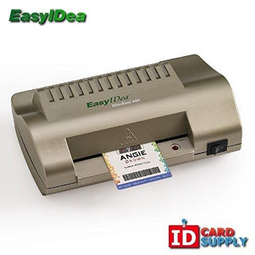 "easyIDea ML450T ID Card Laminator, 4.5"" Teslin Pouch Laminat"
