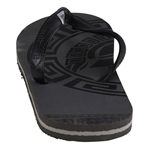 Negro Caucho Hombre Schuhmarketing Hsm De Para Sandalias UTYxYC