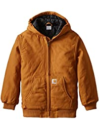Boys Active Taffeta Quilt Lined Jacket