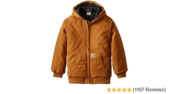6e1eca1ef Carhartt Boys Active Taffeta Quilt Lined Jacket