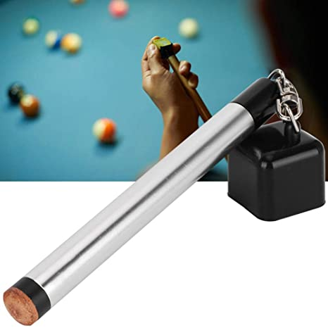 Alomejor Billar Cue Tip Tool 2 en 1 Pocket Pool Snooker Chalk Holder Pricker Cue Tip Prep Tool Manija de Mesa: Amazon.es: Deportes y aire libre