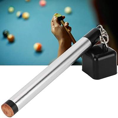 Pocket Billiard Chalk Holder Stick Cue Tip 2 in 1 Multi-function Chalk