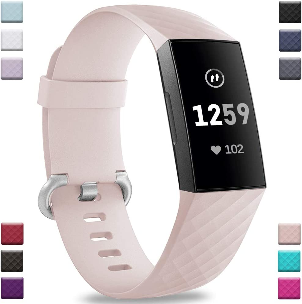Malla Para Reloj Fitbit Charge 3 Y Charge 3 Se (rosa) L