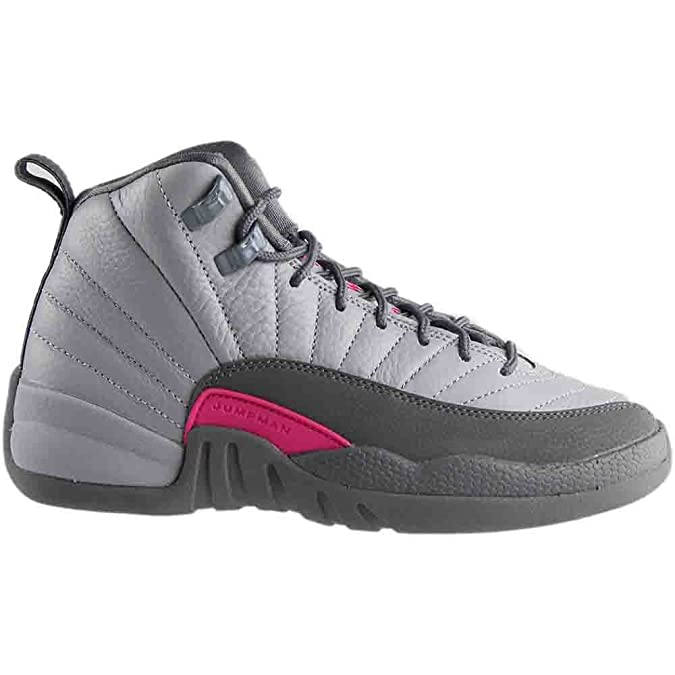 premium selection 73746 0cf31 Amazon.com   NIKE Air Jordan 12 Retro GG Basketball Sneaker White Gray    Basketball
