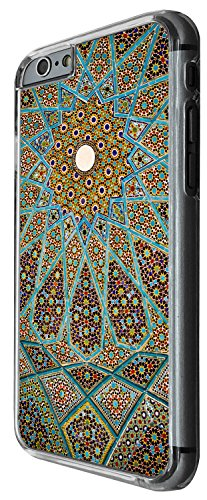 1397 - Cool Fun Trendy cute kwaii space hypnotise kaliedoscope colourful peace art swirl stain glass Design iphone 6 Plus / iphone 6 Plus S 5.5'' Coque Fashion Trend Case Coque Protection Cover plasti